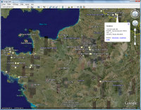 Export vers Google Earth