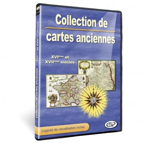 Collection de cartes anciennes