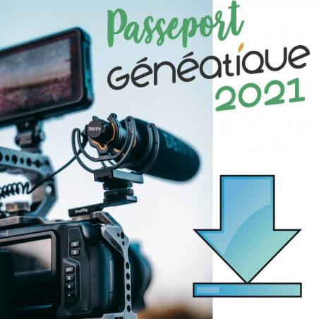 Passeport Généatique 2021 en téléchargement
