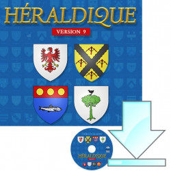 Héraldique 9 en CD-ROM -...