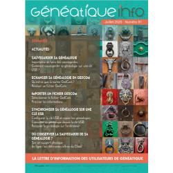 Généatique Info n° 91 en...
