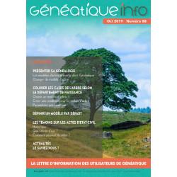 Généatique Info n° 88 en...