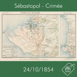 Carte de Sébastopol, 24...
