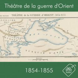 Carte du théâtre de la...