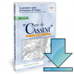 Carte de Cassini, logiciel...