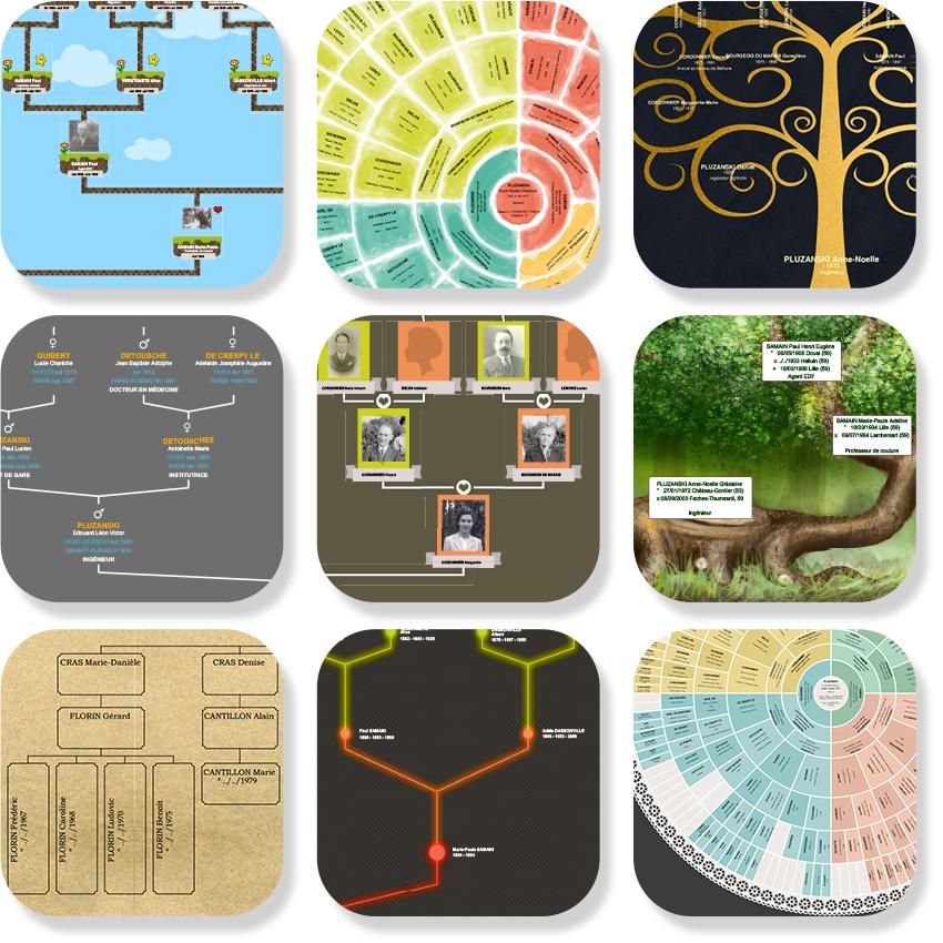 Nouveaux modèles d'arbres