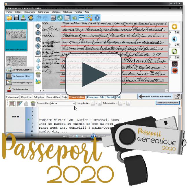 Passeport Généatique 2020